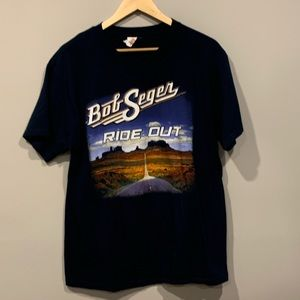 Bob Seger 2014 Ride Out Tour Concert T-Shirt